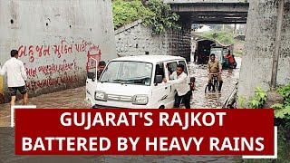 Gujarat's Rajkot battered by heavy rains, 144 mm rainfall recorded on Friday