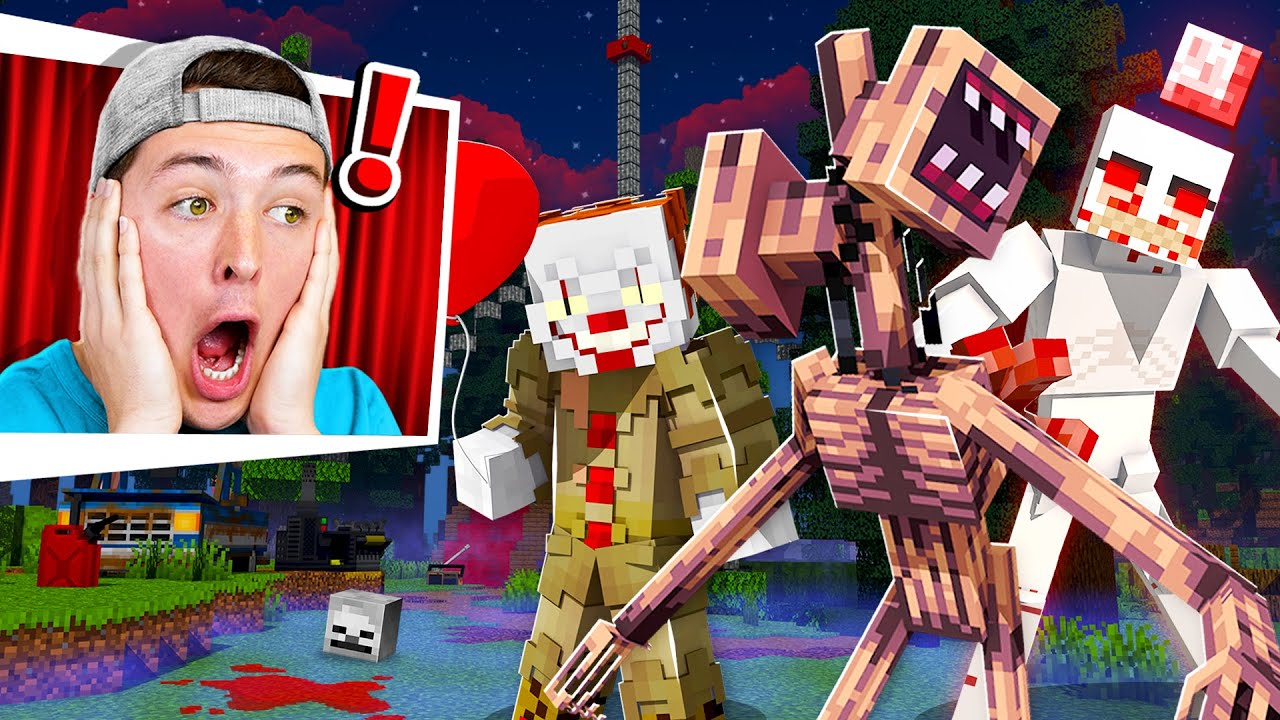 I Secretly Added the SCARIEST MODS to Minecraft...