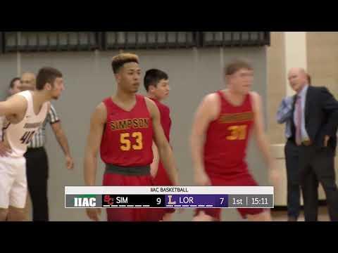 Men's Basketball vs Simpson 2/14