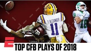 Top 10 wildest plays of 2018 college football season | ESPN