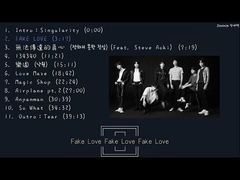 【全輯中字】防彈少年團(BTS) - LOVE YOURSELF 轉 'TEAR'