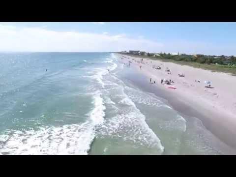 Raw Footage DJI Inspire 1 Cocoa Beach and Merritt Island, Florida