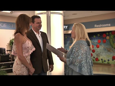 Ron Verb - Couple Married At Airport During Hurricane Michael