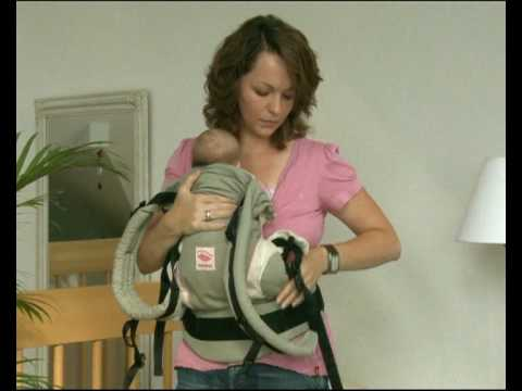 How To Use The Manduca Baby Carrier In Front Carry Position With A