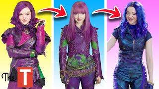 The Evolution of Disney's Descendants Fashion From D1 To D3