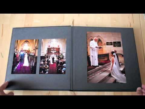 12 X 12 Inch Wedding Album Youtube