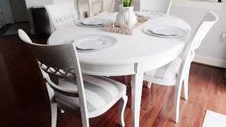 Chalk Paint Kitchen Dining Table