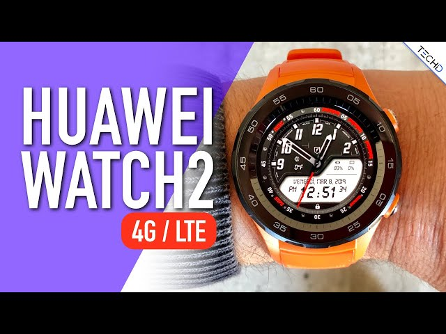 Huawei Watch 2 4G /LTE - Ecco Perché non mi ha Convinto - RECENSIONE