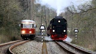Die Harzer Schmalspurbahnen April 2015 - HSB