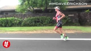Caroline Steffen Running Form 2014 Hawaii Ironman