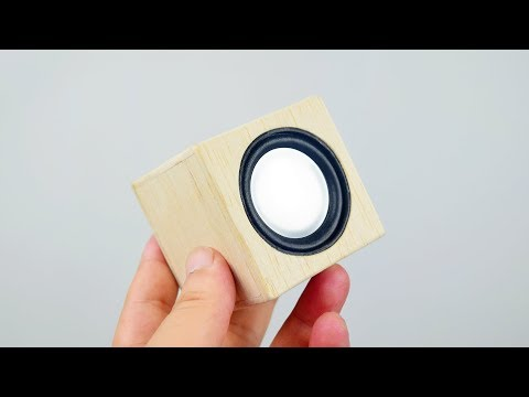 How To Make A Simple And Cheap DIY Bluetooth Speaker