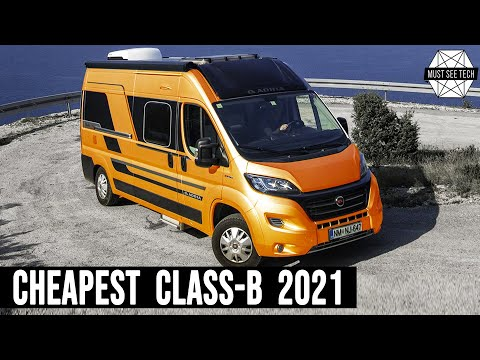 9 Cheapest Class-B Campervans Offering Practical Living In The Wild In 2021