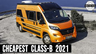 9 Cheapest Class-B Campęrvans Offering Practical Living in the Wild in 2021