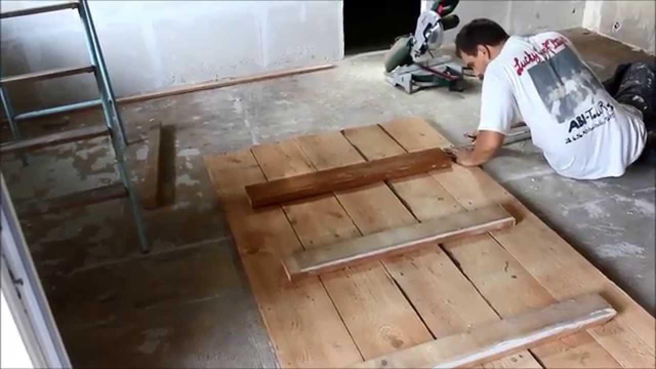idees deco pour la maison fabriquer une table de salle a manger rustique