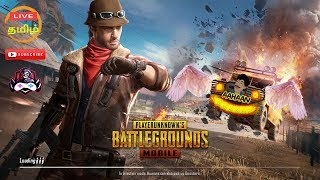 PUBG Mobile🔴Tamil Fun game paly - Road to 1M Subs