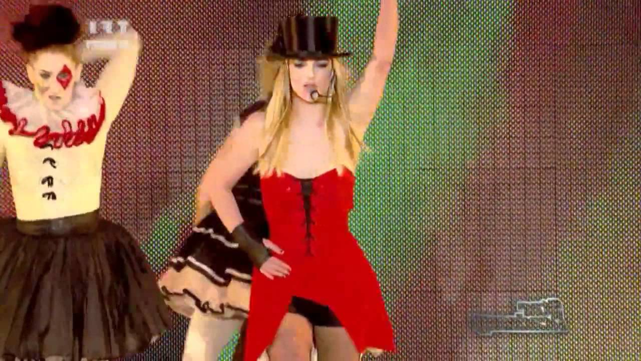 Britney spears womanizer live x factor hd Part 9