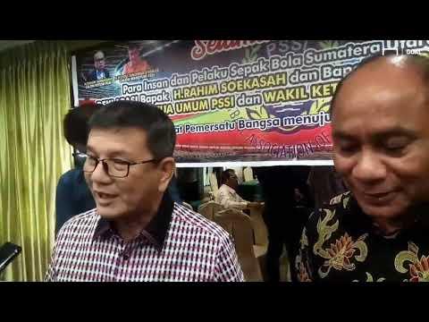 Besan Presiden Jokowi Deklarasikan Diri Jadi Calon Waketum PSSI