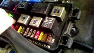 видео Реле противотуманных фар ВАЗ 2110 задних и передних • Сам автоэлектрик
