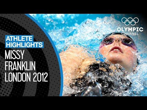 All Missy Franklin 🇺🇸 London 2012 Finals! | Athlete Highlights