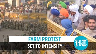 'Plot to end Jai Jawan, Jai Kisan': Farmers camp in Delhi, more at borders