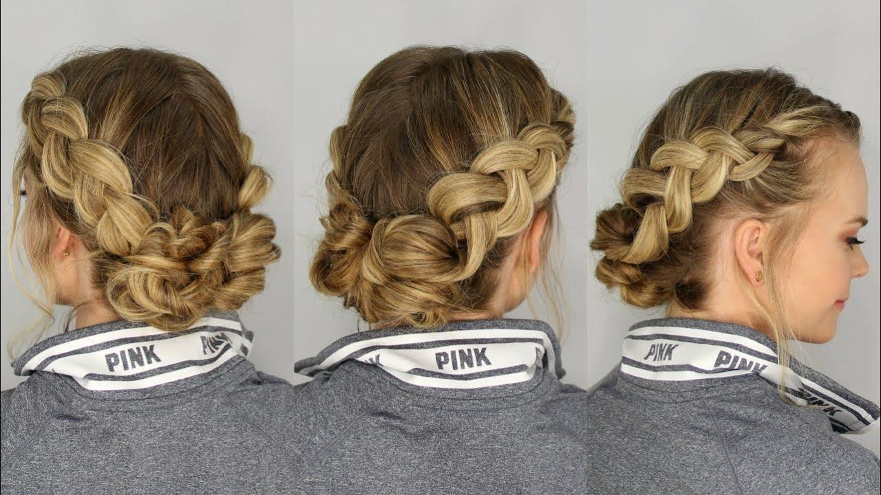 dutch braids and messy buns missy