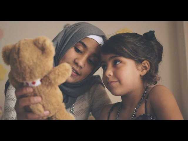 Ahlan: The bear that welcomes refugee children to Canada by COSTI Immigrant Services