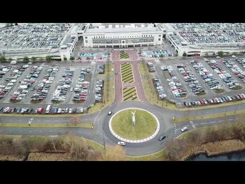 Bluewater Shopping Centre Drone - 4K UHD Video - 24/12/2017