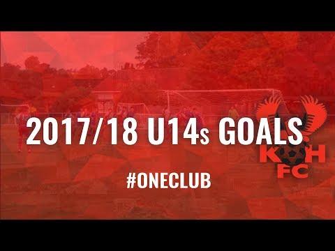 2017/18 U14s Goals #OneClub