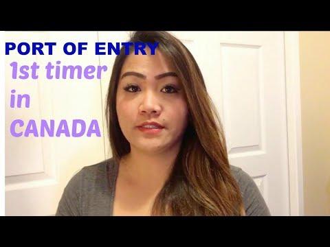 PORT OF ENTRY 🇨🇦 1st timer