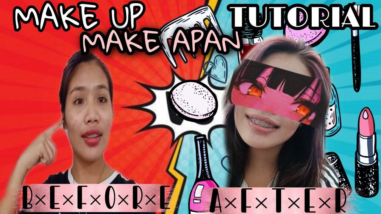 Make up -Make APAN with tutorial (before and after )/Kruk-Kruk TV