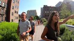 Walking NYC (Narrated) : The High Line Elevated Park in Summer (July 7, 2019)