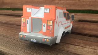 Presentation of Transformers Prime Ratchet by Papercraft Master