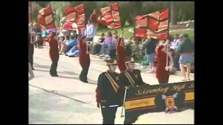 Schaumburg High School Band Septemberfest Parade 2011