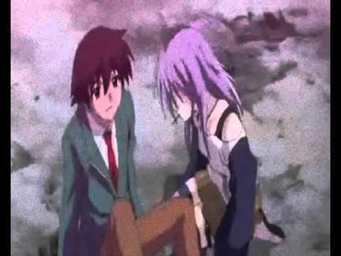 Rosario Vampire Mizore And Tsukune
