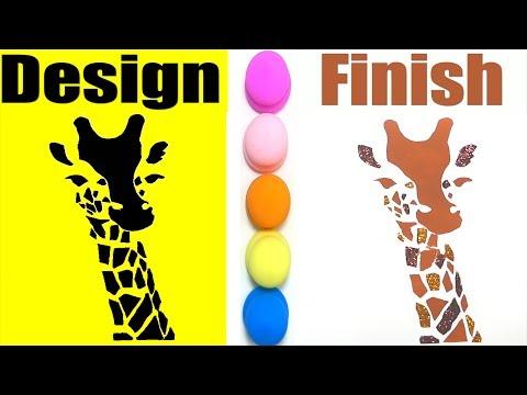 stencil- -how-to-make-a-giraffe-stencil-easily- -glitter-coloring-giraffe- -diy---stencil- -stamping