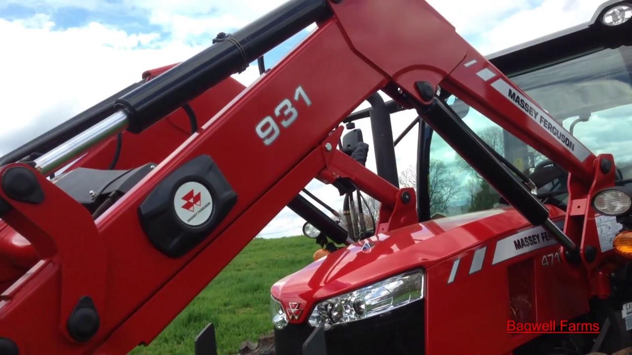 Our New Massey Ferguson 4710