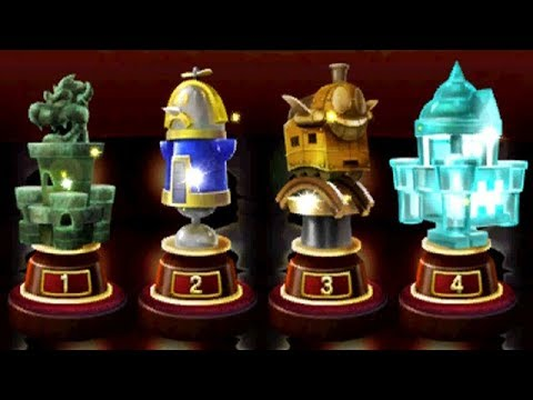 Mario & Luigi: Bowser's Inside Story 3DS - All Giant X Bosses (Gauntlet)