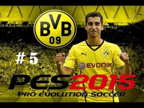 Borussia Dortmund vs Real Madrid - Champions League - PES 2015 - Henrikh Mkhitaryan #5