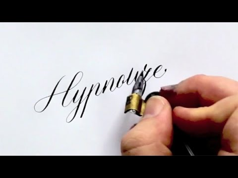 Best of seb lester 39 s hand drawn calligraphy videos youtube Calligraphy youtube