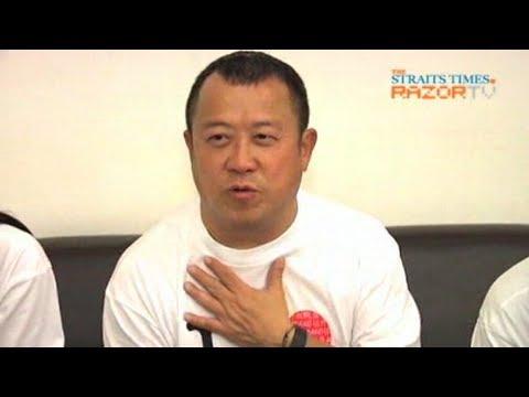 Eric Tsang mocks Sandra Ng 20 HK stars at airport Pt 3
