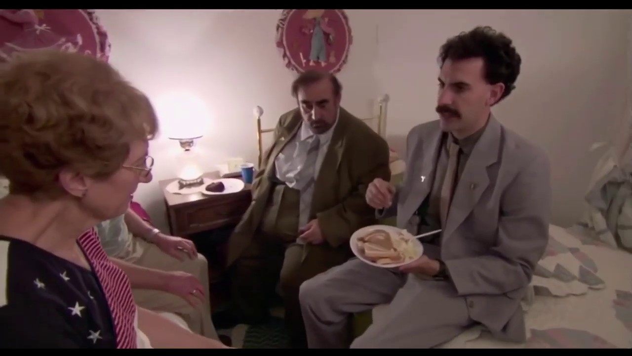 Download Borat: Cultural Learnings of America for Make Benefit Glorious Nation of Kazakhstan (2006)BEST SCENE