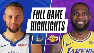 WARRIORS at LAKERS | FULL GAME HIGHLIGHTS | January 18, 2021