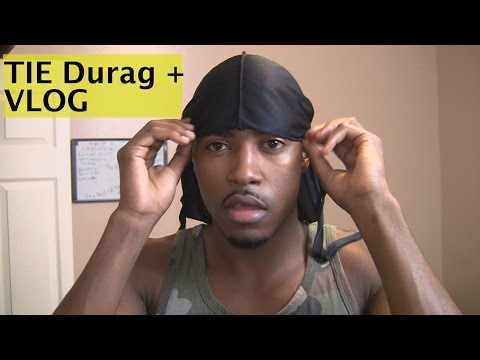 How to Get 360 Waves & Tie A Durag Perfectly (VLOG#5)