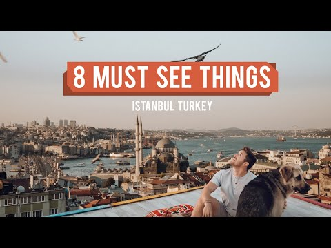 MY 8 MUST DO THINGS in Istanbul Turkey - Vlog 205