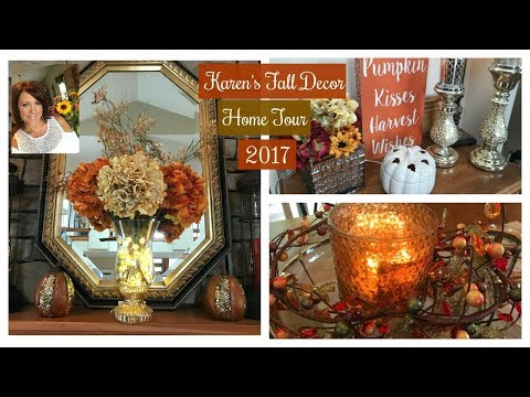 Karen's Fall Decor Home Tour 2017 | Fall Home & Lifestyle Part 3 | The2Orchids