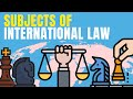 Subjects of International Law explained | Lex Animata