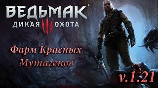 The Witcher 3: WIld Hunt › Фарм Красных Мутагенов