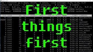 Linux #8 - Premières choses à faire sur un serveur dédié