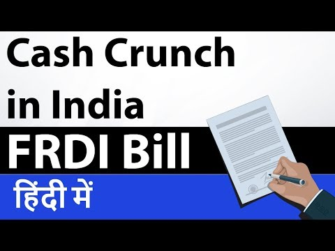 Cash Crunch situation in Indian Economy - Know main reasons behind it - Current Affair 2018