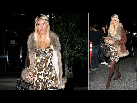 Paris Hilton Looking FABULOUS For Late Night XMas Jewelry Shopping [2008]